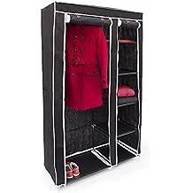 Faltschrank VALENTIN XXL Stoffschrank 9 Ablagen Kleiderschrank Textilschrank