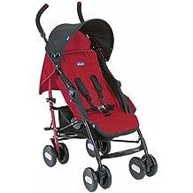 Chicco Echo - Silla de paseo, ligera y compacta, 7,6 kg, color rojo