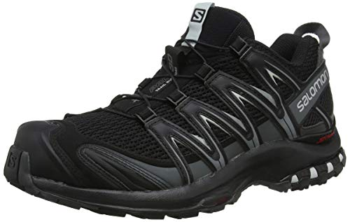 Salomon XA PRO 3D, Scarpe Da Trail Running Uomo, Nero (Black/Magnet/Quiet Shade), 43 1/3 EU