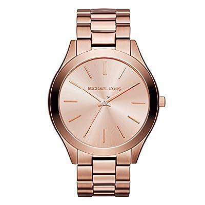 Michael Kors Reloj Analógico para Mujer de Cuarzo con Correa en Acero Inoxidable MK3205_0
