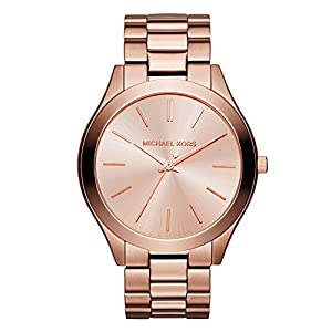 Michael Kors Damen Analog Quarz Uhr mit Edelstahl Armband MK3205_0