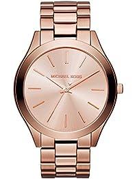 b14fe57b656c Michael Kors Reloj Analógico para Mujer de Cuarzo con Correa en Acero  Inoxidable MK3205 0