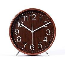 JIAJIA Reloj De Sobremesa Minimalista Moderno, Reloj De Péndulo De Escritorio, Reloj Creativo De