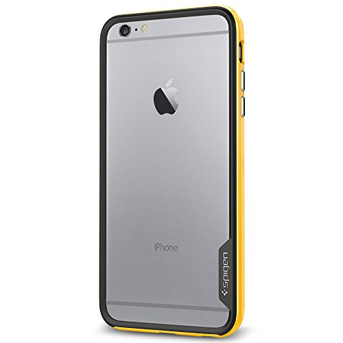 Spigen SGP11060 Neo Hybrid EX Series Case für Apple iPhone 6 Plus reventon gelb (Iphone Spigen Series 6 Hybrid Neo)