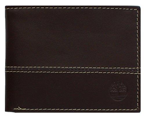 Timberland Herren Hunter color-block Passcase, Braun (Wallet Passcase Braun)