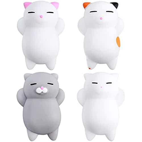 juguetes kawaii TOYMYTOY 4pcs Cartoon Slow Rising juguetes Mini lindo Kitty Buns Stress Relief Toy
