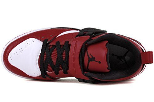 Jordan Flight 45 Rot/Schwarz/Weiß