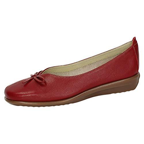 48 HORAS 910401/40 Manoletinas DE Piel Mujer Zapatos