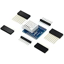 daorier D1 Mini DHT22 Single Bus Digital de la temperatura humedad relativa Sensor Shield para Arduino