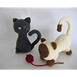 Kitten Crochet Pattern (English Edition)