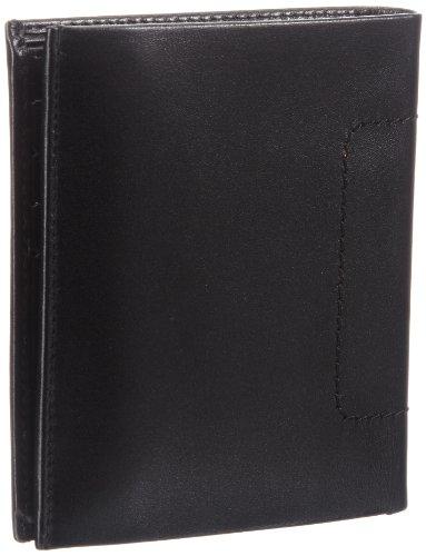 Bodenschatz Novara 8-501 NA 01 Herren Geldbörsen 10x12x3 cm (B x H x T) Schwarz (Black)