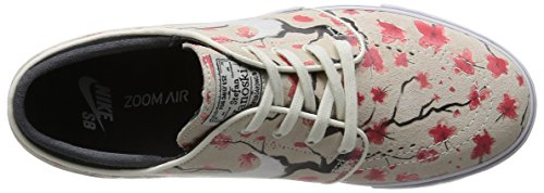 Nike Zoom Stefan Janoski Elite, Chaussures de Skate Garçon, 11 EU Beige-Rose-Rouge