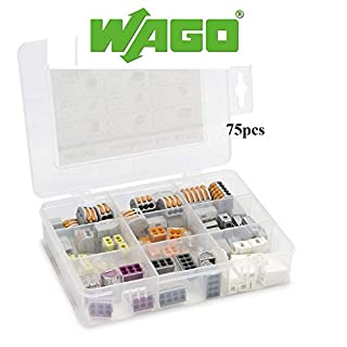 WAGO Basic Installation Box Connector Kit Terminals & Splices 51228987 by Gas N Pow3r