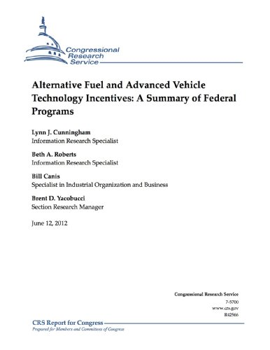 Alternative Fuel and Advanced Vehicle Technology Incentives: A Summary of Federal Programs (English Edition)