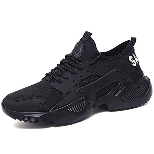 CHNHIRA Chaussures de Travail Homme Embout Acier Protection Antidérapante Anti-Perforation Chaussures de Sécurité Unisexes (EU44...