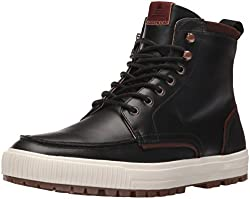Aldo Ranstrom Boot Black Leather 8 D(M) US