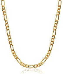 Charms Sachinia Collection Gold Plated Chain For Boys & Men