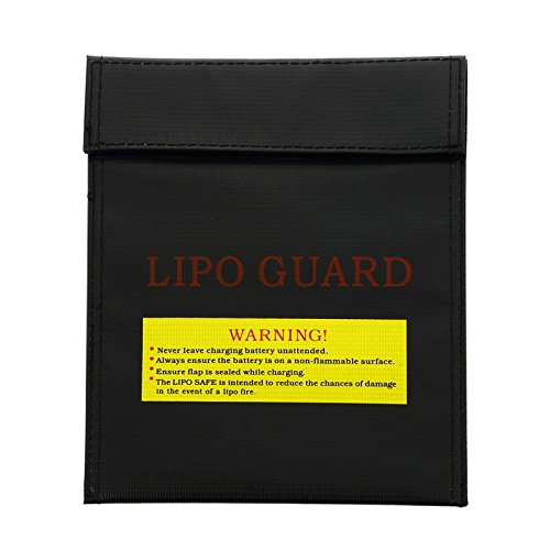 Water & Wood Battery Explosion Protection Bags Mini Storage Bags 240*110 mm