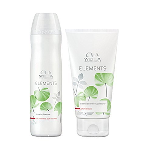 Wella Elements Shampoo und Spülung, 250 ml und 200 ml (Elements Wella Shampoo)