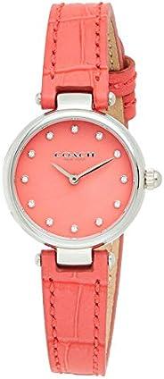 Coach Women's Dark Pink Dial Dark Pink Calskin Watch - 1450
