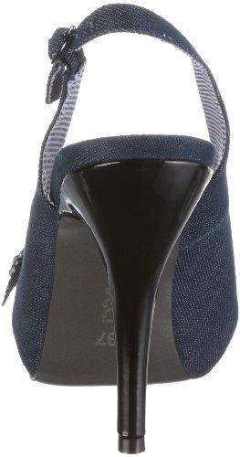 Fiorucci 40146, Sandales mode femme Bleu-TR-DL