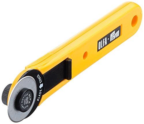 Prym Mini 28 mm Rollschneider, Kunststoff, gelb/schwarz, D 28mm