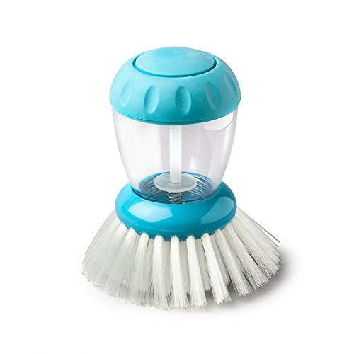 Zeal - Cepillo dispensador de Platos, Talla única, Color Azul