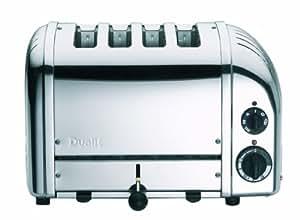 Dualit 47180 4 Slice NewGen Toaster Polished Stainless Steel