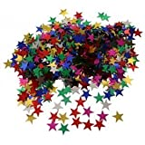 Multi Coloured Stars Confetti