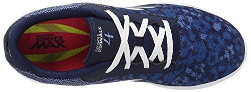 Skechers prestazioni Go Walk 4 Excite scarpa a piedi Navy