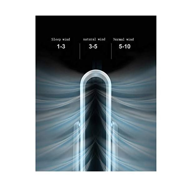 XUEPING-Ventilador-de-refrigeracin-de-la-Torre-Ventilador-de-Aire-Acondicionado-Sala-Cuarto-Control-Remoto-sincronizacin-Pequea-Sin-Hojas-Anillo-Mudo-Solo-fro-Ventilador-de-pie-Blanco