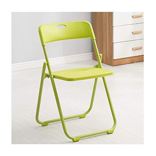 LZYZZZ Büro Computer Stuhl klappstuhl Garten im freien tragbaren Angeln Stuhl, gelb, 45x42x76 cm