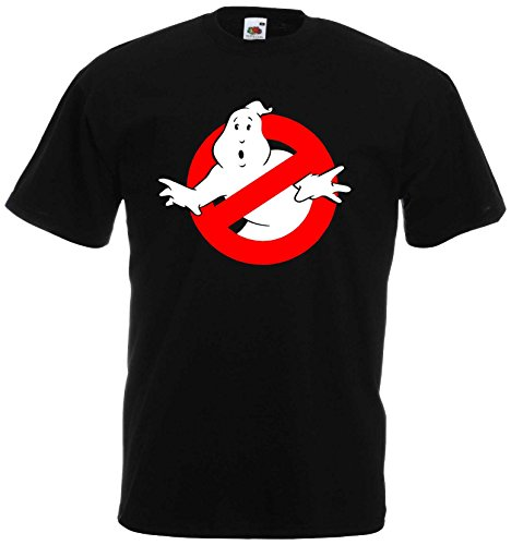 Bill Murray Kostüm - world-of-shirt Herren & Kinder T-Shirt Ghostbuster von 128-XXXL| M