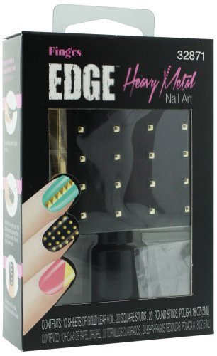 Fingrs Edge (Fing'rs Edge Heavy Metal Nail Art Kit # 32871 by Pacific World)