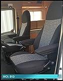 Wohnmobil Sitzbezüge Fahrer & Beifahrer 813