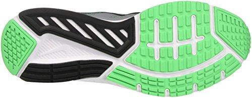Nike Dart 12, Sneakers Homme Gris (Stealth/black/electro Green)