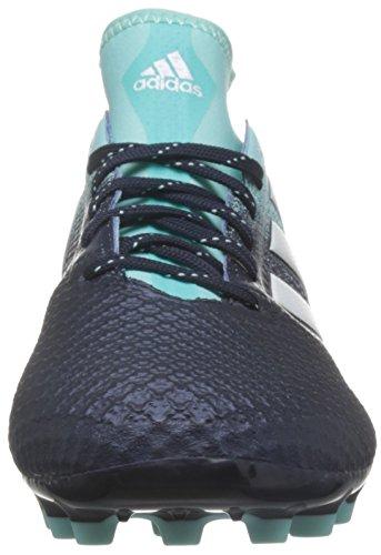 adidas Herren Ace 17.3 AG Fußballschuhe Blau (Energy Aqua/Footwear White/Legend Ink)
