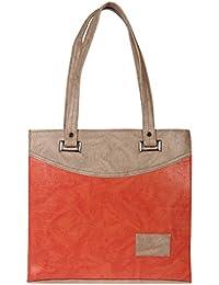 Zapatoz Women's Plain Multicolor Leatherite Tote Bag (Tote-M-multi)