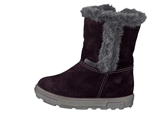 RICOSTA Pepino Mädchen Winterstiefel USKY, WMS: Mittel, wasserfest, leger Winter-Boots Outdoor-Kinderschuhe gefüttert warm,Plum,25 EU / 7.5 UK