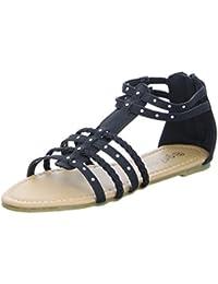GirlZ OnlY Sandalette GH10524 Kinderschuh Mädchen Schwarz