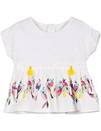 Catimini Top IMP Oiseaux, T-Shirt Bébé Fille
