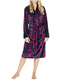 ca0b5ff536 Metzuyan - Ladies Star Print Dressing Gown