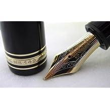 Montblanc 149 Meisterstück - Pluma estilográfica con tintero (diseño con apariencia de puro) OM
