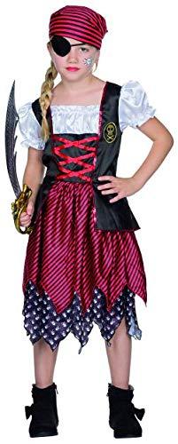 Rubies Kinder Kostüm Piratin Mary Fasching Karneval Halloween Verkleidung: Größe: 116