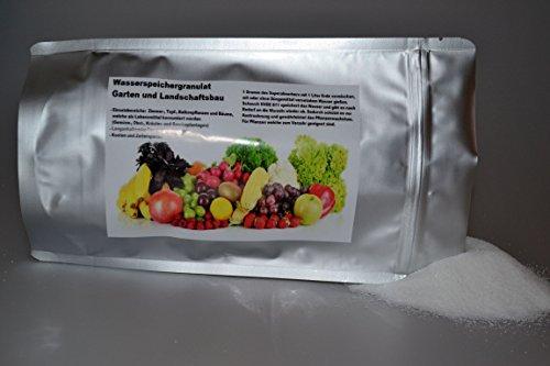 Grüne Sprossen Obst (Superabsorber der Marke Schauch. Optimale Bewässerungshilfe, Bodenverbesserer für Obst und Gemüse. HVDE 811 auf Kalium / Potassium basierendes Wasserspeichergranulat (250g))