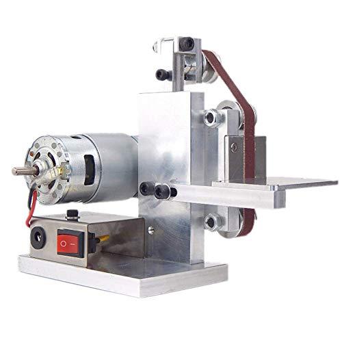 Fishyu DIY Mini Belt Sander Cutter Apex Edge Sharpener Polishing/Grinding Machine Tool