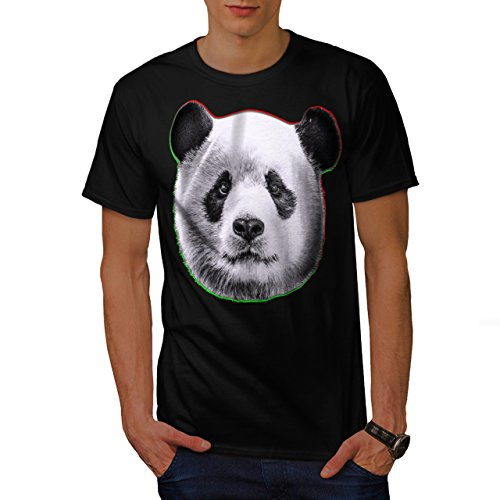 cracked-wood-panda-timber-style-men-new-black-l-t-shirt-wellcoda