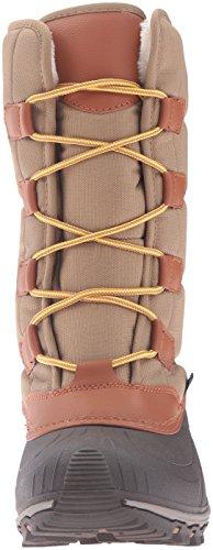 Kamik - Mcgrath, Stivali a metà gamba con imbottitura pesante Donna Marrone (Braun (KHA-KHAKI))