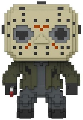 Funko POP Horror 8 Bit Jason Voorhees 24596