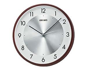 Seiko Wall Clock (30 cm x 30 cm x 4.5 cm, Brown, QXA615BN)